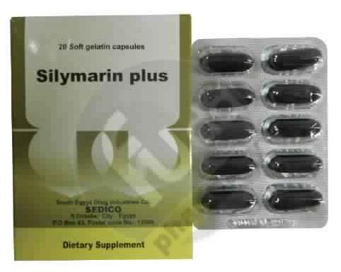 سيليمارين بلس كبسولات Silymarin Plus Capsules