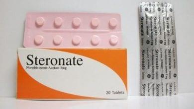 ستيرونات أقراص لعلاج دورات الطمث الغير منتظمة Steronate Tablets