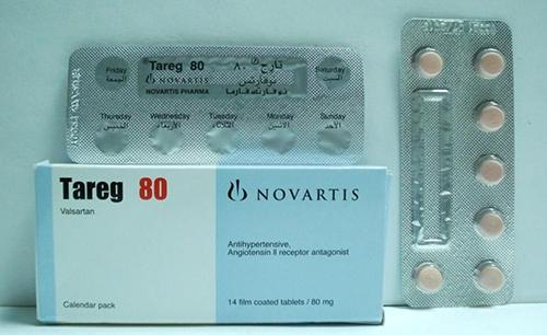تارج أقراص لعلاج إرتفاع ضغط الدم وجلطات القلبية  Tareg Tablets