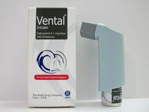 فينتال بخاخ موسع للشعب الهوائية ومضاد لضيق التنفس Vental Inhaler