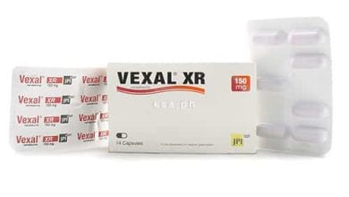 فيكسال اكس آر كبسولات لعلاج حالات القلق والتوتر Vexal XR Capsules