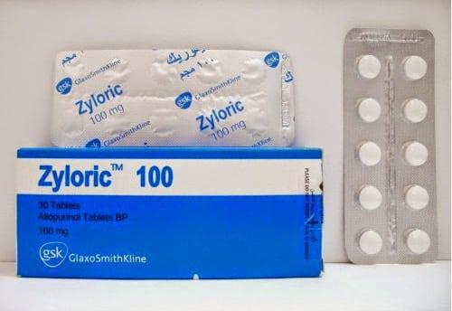زيلوريك أقراص لعلاج مرض النقرس Zyloric Tablets