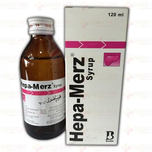 هيبا ميرز شراب Hepa Merz Syrup