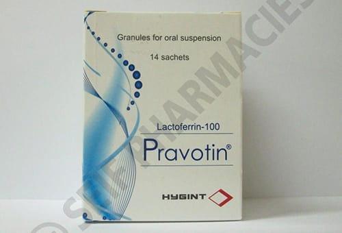 برافوتين أكياس لعلاج الانيميا والوقاية من الالتهابات Pravotin Sachets