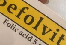 بيفولفيت أقراص لعلاج نقص حمض الفوليك أسيد Befolvit Tablets
