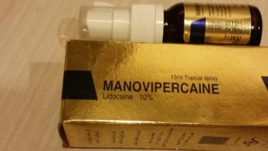 مانوفيبركين سبراي مخدر موضعي لعلاج سرعة القذف Manovipercaine spray