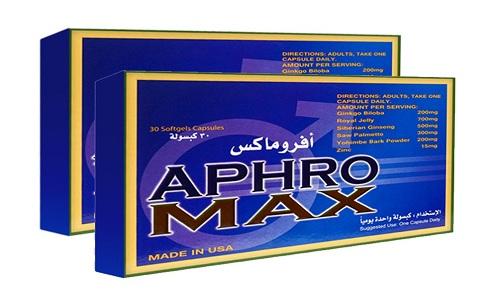 أفروماكس أقراص لعلاج ضعف الأنتصاب وتحسين الدورة الدموية Aphro Max Tablets