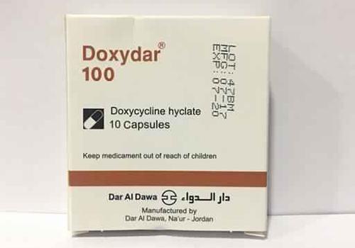 دوكسيدار كبسولات مضاد حيوى واسع المجال Doxydar Capsules
