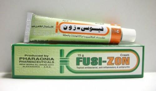 فيوسى زون كريم مضاد للبكتيريا ولعلاج الالتهابات Fusi Zon Cream