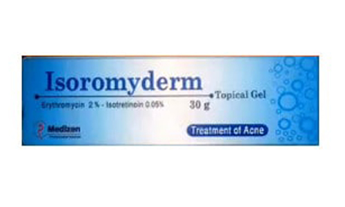 ايزوروميديرم جيل لعلاج حب الشباب والرؤوس السوداء Isoromyderm Gel