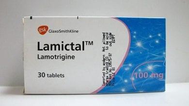 لاميكتال أقراص لعلاج نوبات الصرع المختلفةLamictal Tablets
