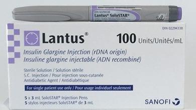 لانتوس حقن أنسولين لعلاج مرض السكرى النوع الأول Lantus