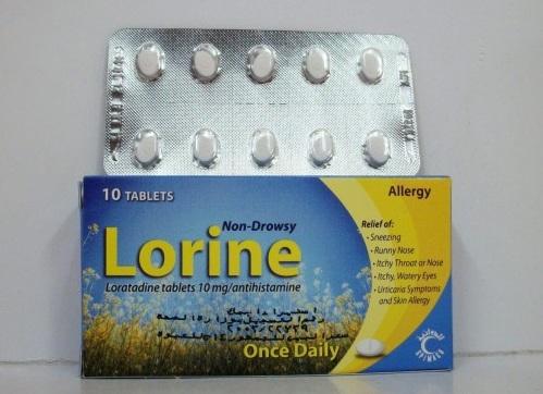 لورين لعلاج أعراض الحساسية والتهاب الجيوب الأنفية Lorine