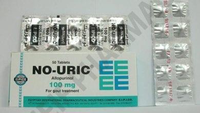 نو يوريك أقراص لتقليل حمض اليوريك فى الدم No Uric Tablets