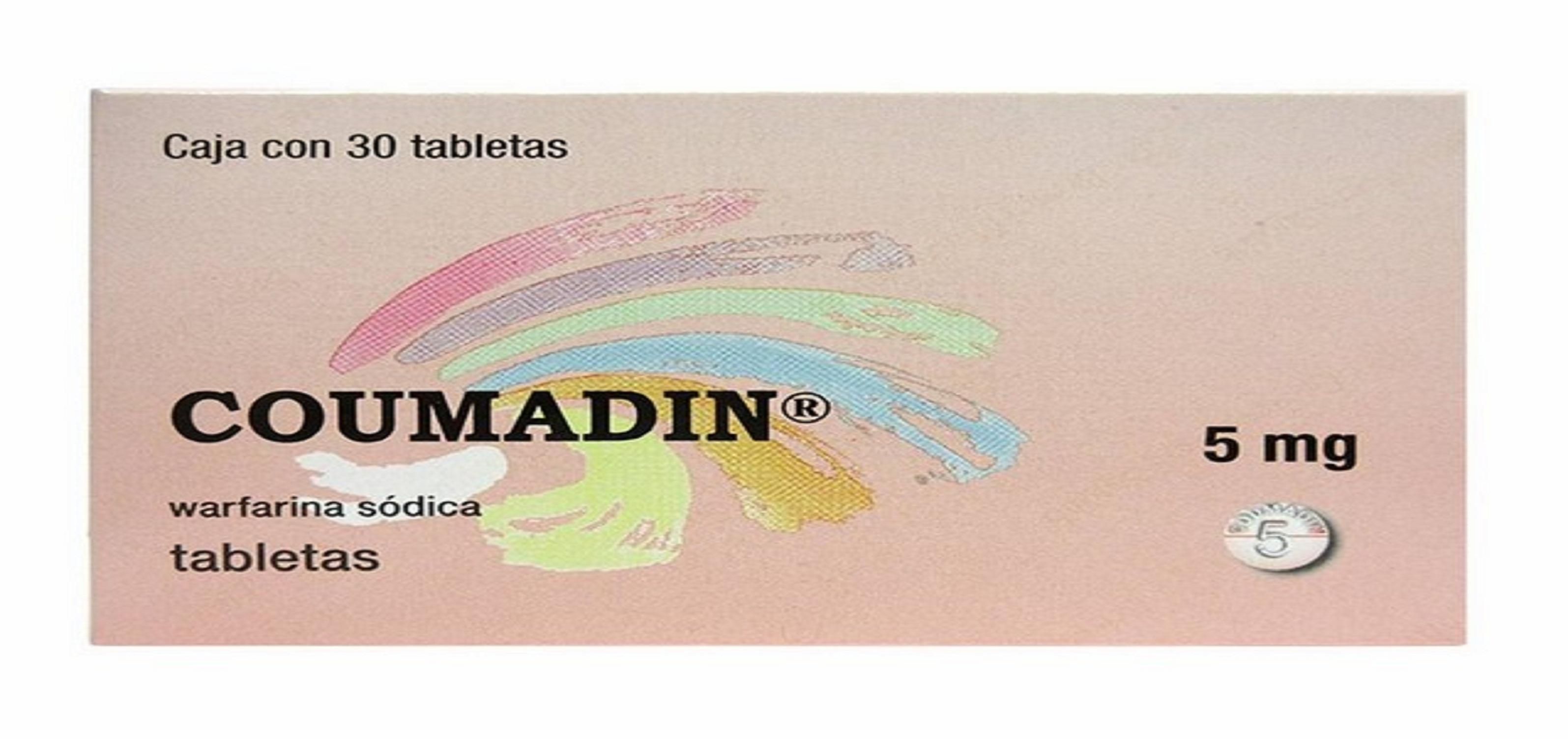 كومادين أقراص لعلاج تخثر الدم Coumadin Tablets