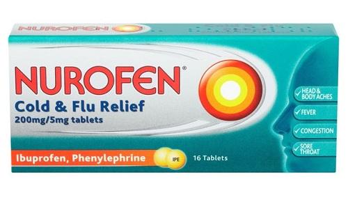 نوروفين مسكن للألم وخافض للحرارة ومضاد للألتهاب Nurofen