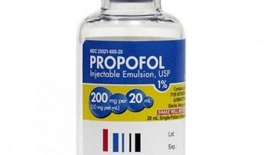 بروبوفول حقن مخدر عام Propofol Injectable Emulsion