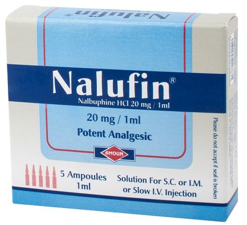 نالوفينحقن مسكن للالام الحادةوالمتوسطة Nalufin Injection
