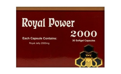 رويال باور 2000 كبسولات لتقوية جهاز المناعة Royal Power Capsule
