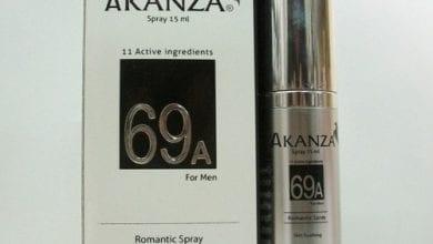 أكانزا سبراي لعلاج التهاب البروستاتا وضعف الإنتصاب Akanza Spray