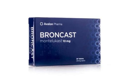 برونكاست اقراص Broncast 10 Tablets