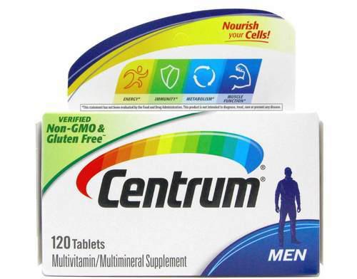 سنتروم فيتامين للرجال Centrum Men 120 tab