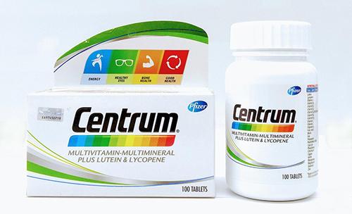 سنتروم أقراص لعلاج نقص الفيتامينات وأنواعه للرجال والنساء والأطفال Centrum الأجزخانة