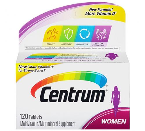سنتروم فيتامين للنساء Centrum Women 120 tab
