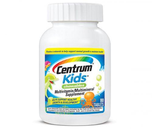فيتامين سنتروم أقراص للأطفال Centrum kids 80 chew tab