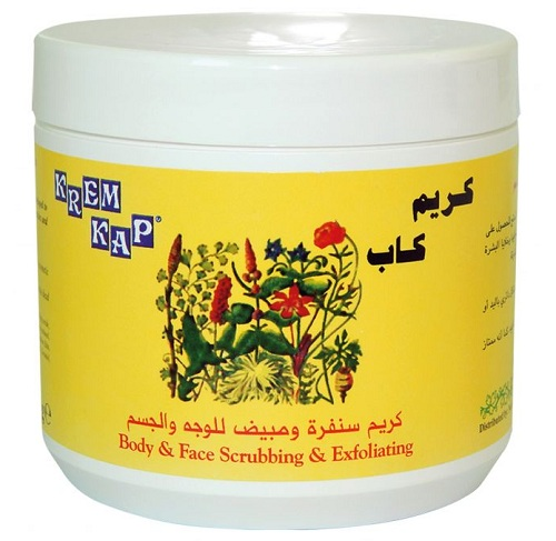 krem kap scrubbing and exfoliating face and body cream 500 ml