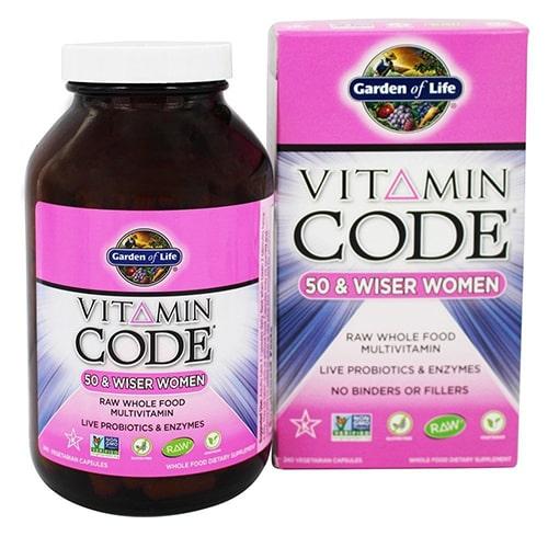 فيتامين Garden of Life Vitamin Code Women